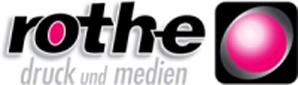 Rothe Druck und Medien Logo